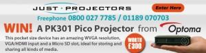 Optoma PK301 Projector